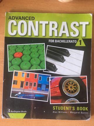 Libro de Inglés Advanced Contrast 1 Bachillerato