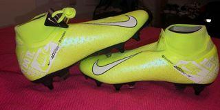 Botas de futbol alta gama nuevas
