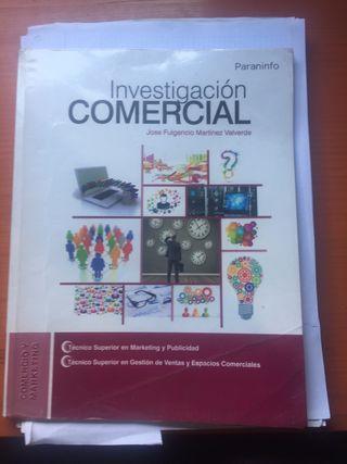 Libro investigación comercial grado superior