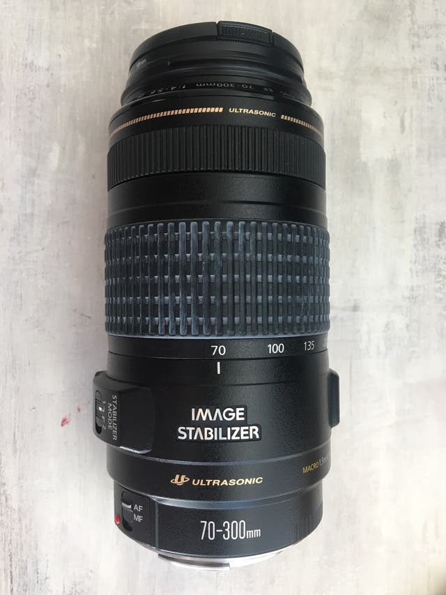Objetivo Canon EF 70-300mm f/4-5.6 IS USM