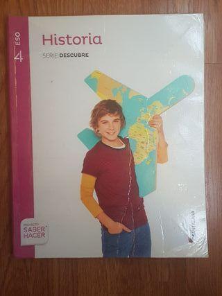 libro historia 4eso Ed.Santillana