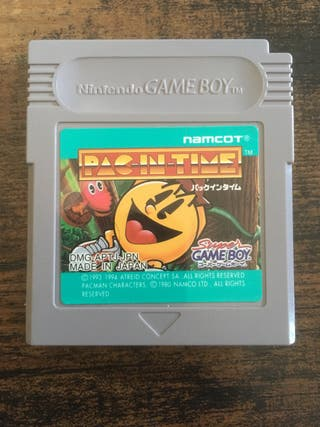 Pac In Time Game Boy