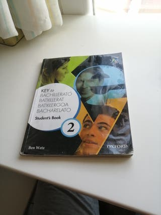 libro inglés. Students book 2 Bachillerato. Oxford