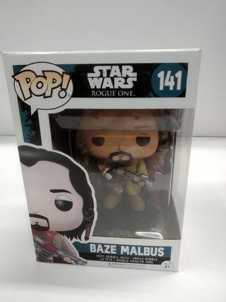 Funko POP Baze Malbus - 141 Star Wars Rogue One.