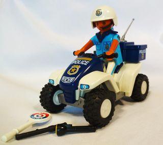 Playmobil Policía con Quad Ref 4244
