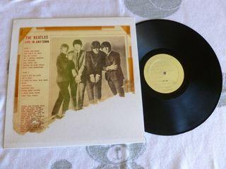 The Beatles Live In Anytown Vinilo LP Raro