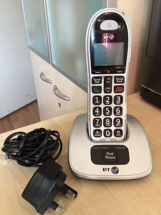 BT 4000 single cordless phone.