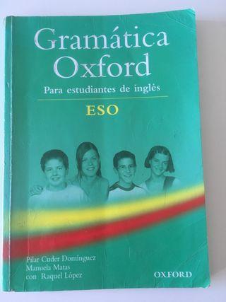 Libro inglés gramática OXFORD ESO