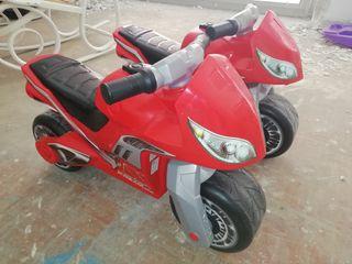 2 Motos correpasillos Molto Cross Premium Niño