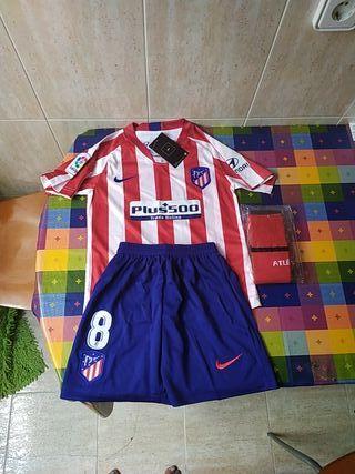 Equipacion niño Atlético de Madrid