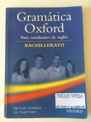 Libro gramática inglés OXFORD BACH