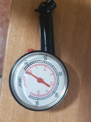 Manómetro para bicicleta