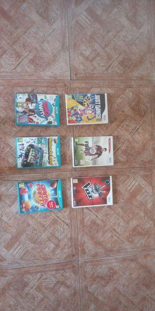 6 juegos para la Wii U, 3 de ellos sin estrenar.