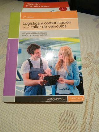 libro automoción curso de acceso a grado superior