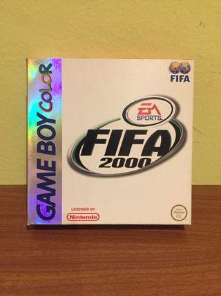 Fifa 2000 game boy color