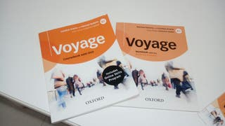 Voyage B2, EOI . libro de Ingles