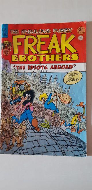 Comic Freak Brothers The Idiots Abroad 1996 v.o.