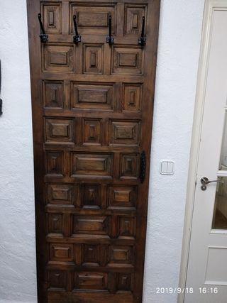 !!Puerta perchero