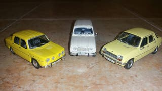 colección coches escala 1/43 Renault