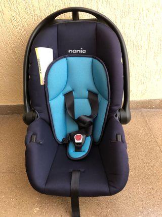 Silla bebé coche Nania grupo 0-1