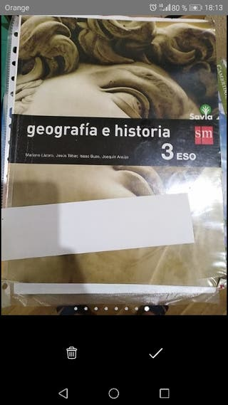 3 eso geografía e historia