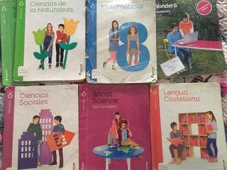 Libros de texto 6 de primaria