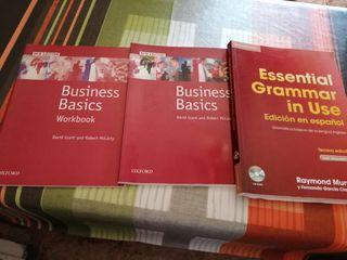 Libros curso de Inglés (Oxford)