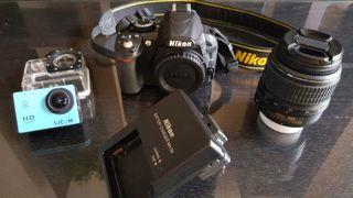 Pack Nikon D3100 y SJ4000 SJCAM