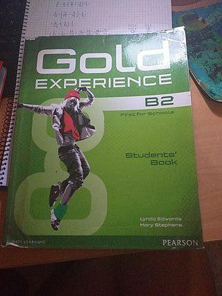 Libro de inglés Gold Experience B2