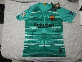 Camiseta portero FC Barcelona talla S con etiqueta