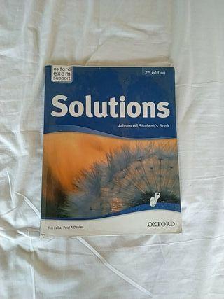 Libro de inglés, Solutions Advanced Student's Book