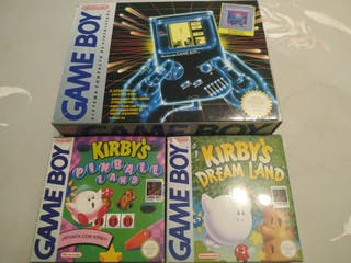Lote Game Boy + kirby's
