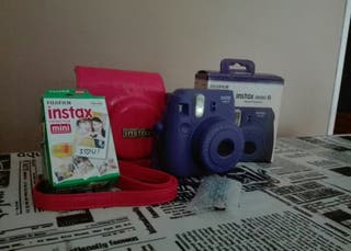 Cámara instax mini 8 pack