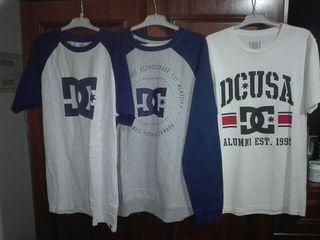 LOTE DC Talla S. sudadera Y dos camisetas.