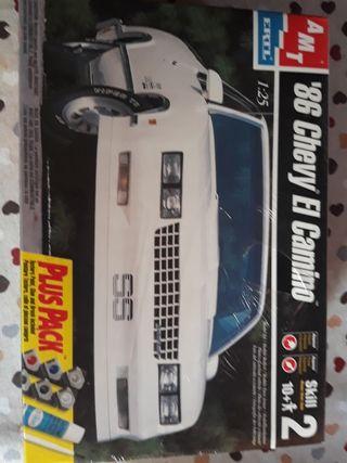 1986 CHEVY EL CAMINO de AMT escala 1/24