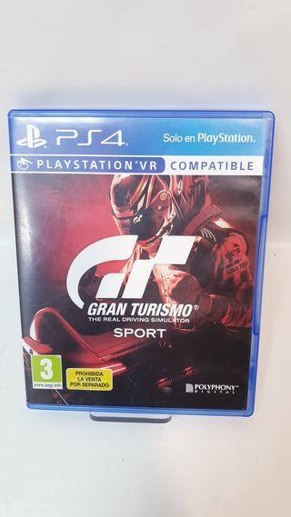 JUEGO PS4 GRAN TURISMO SPORT VR