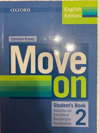 Libro de inglés MOVE ON 2 Bachillerato