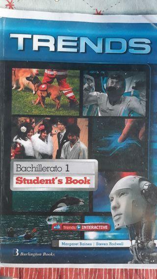 libro de inglés 1° de bachillerato