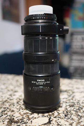 objetivo para nikon Sigma 70-210 APO 2.8
