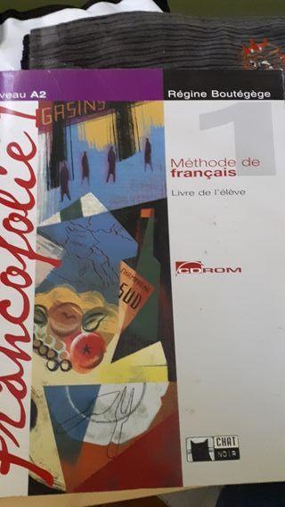 Libro de francés a2 primero de bach