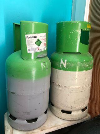 Botellas de aire acondicionado