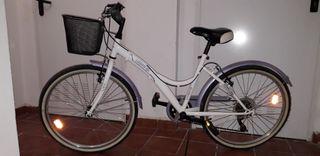 bicicleta niña 24