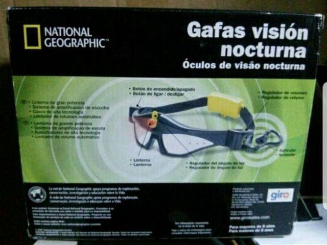 gafas de visión nocturna National Geographic