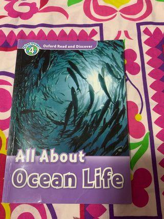 Libro ALL ABOUT OCEAN LIFE, oxford