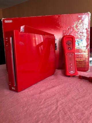 Wii Edición Roja + un mando