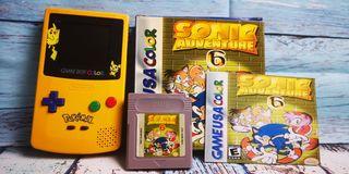 Sonic adventure 6 para game boy color