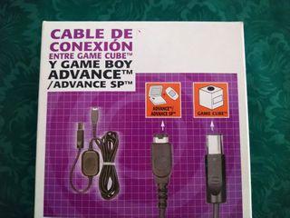 Cable conexión Gameboy Advance Gamecube