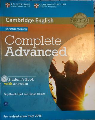 Libro de texto inglés: Complete Advanced C1