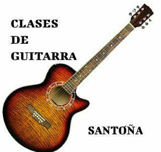 CLASES DE GUITARRA SANTOÑA