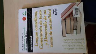 Libro de lengua PAU +25